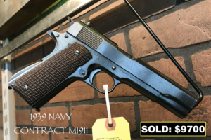 Sold Vintage Firearm Pistol