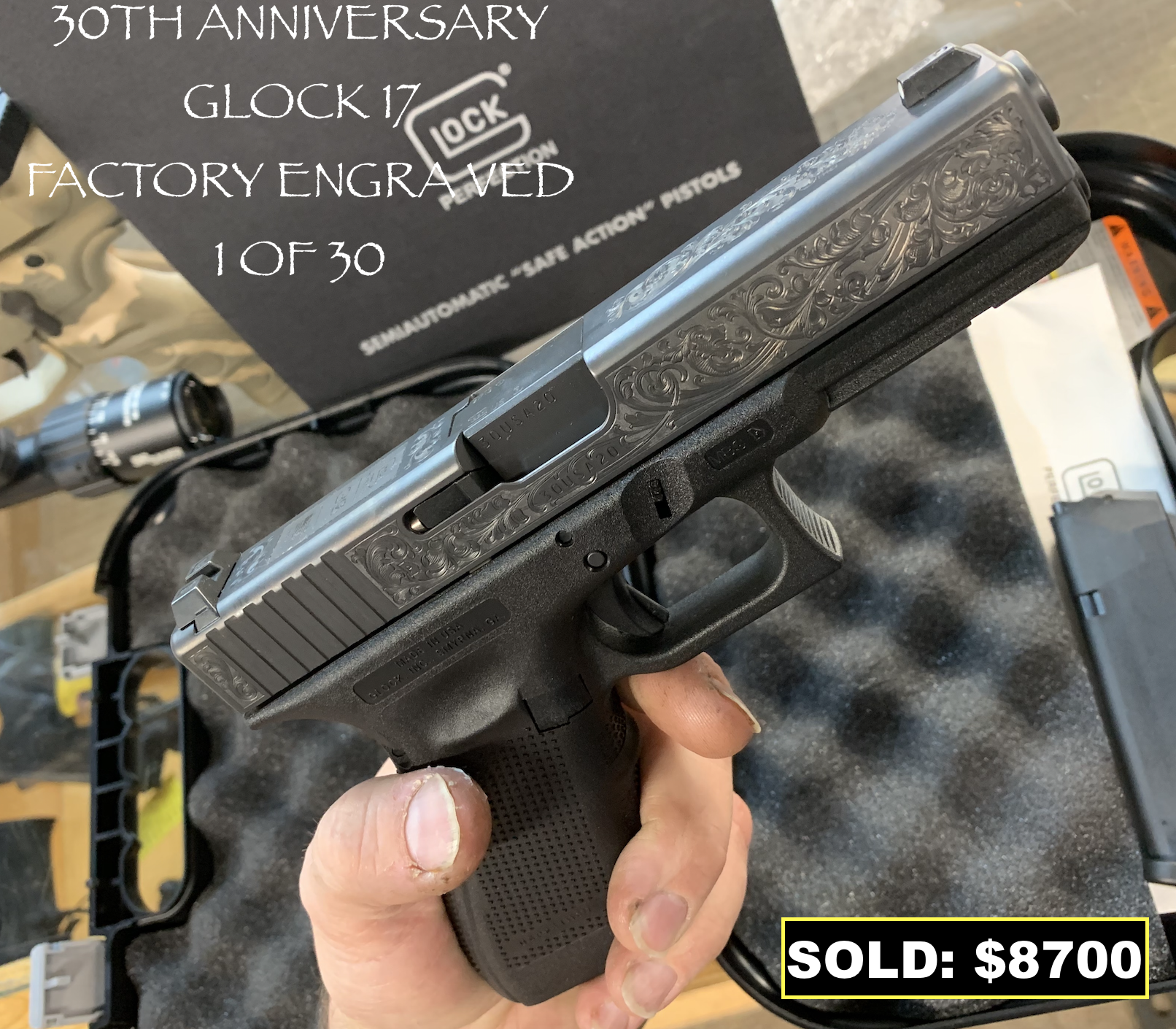 Vintage Firearm Limited Edition Glock17